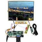 "HDM I DVI VGA LCD Control Board 12.1"" 1024x768 LTN121XJ Touch Panel LCD Screen"