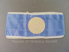 102406 Armbinde des Reichsluftschutzbund für Luftschutz Blockwart, hellblau, RLB