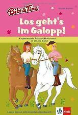 Bibi und Tina - Los geht's im Galopp!: 4 spannende Pferd... | Buch | Zustand gut