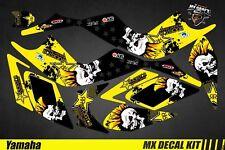 Kit Déco Quad / Atv Decal Kit Yamaha Raptor - Punk Skull