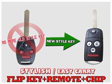 Blade New Flip Switch Remote Key Fob Keyless For 2003 - 2007 Honda Accord
