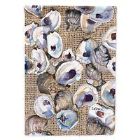 "Caroline Treasures 8734CHF Oyster Flag Canvas, Large, Multicolor"""