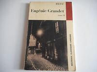 EUGENIE GRANDET TOME II / BALZAC - CLASSIQUES LAROUSSE