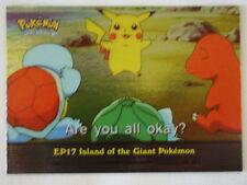Island of the Giant Pokemon Foil 2000 Topps Pokemon Series 2 Episode Card EP17