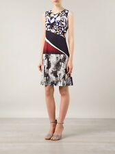CLOVER CANYON Forbidden Forest Mixed Print Dress Size XS NWT $268
