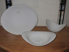 ROSENTHAL *NEW* SCOOP Set 3 assiettes Set 3 plates