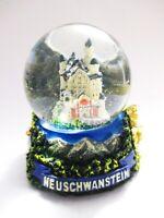 Schneekugel Neuschwanstein Eibsee Alpen Snowglobe Germany Souvenir !!