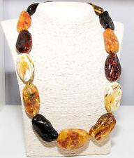 Unique Massive Genuine Baltic Amber Adult Necklace 61.5 cm Luxury 波羅的海琥珀