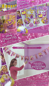Disney Princess Rapunzel Kid Birthday Party Tableware Decoration Balloon Supply