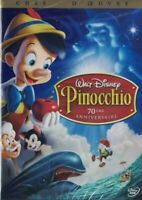 DVD PINOCCHIO WALT DISNEY
