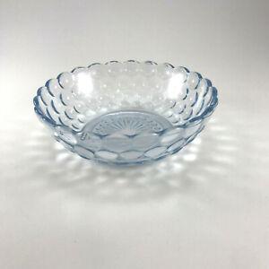"Blue Tint Hobnail Glass Bowl 5"" Decorative Trinket Candy Dish Vintage?"
