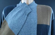 Mens RISCATTO Pullover XL Extra Large Silk/Cashmere Blend Scoop Neck Sweater