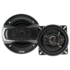 "DS18 SLC-N4X 4"" 4 Way Car Stereo Speakers 280W Max 4 ohm Coaxials(Set of 2)"