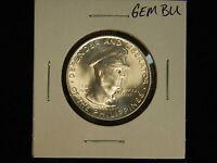 1947-S Philippines 50 Centavos/1 Peso Silver GEM BU 2 Coin Lot
