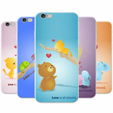 Animals Pairs Love Is All Around Snap-on Hard Case Phone Cover for Huawei Phones
