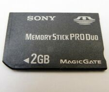 Sony 2GB memory Stick PRO Duo Card Camera memory Genuine OEM
