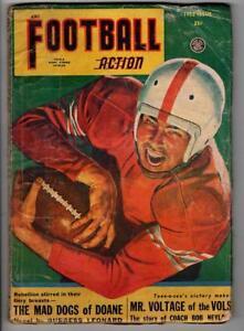 Football Action Fall 1952