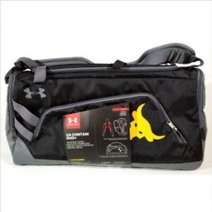Under Armour x Project Rock Contain Duo+ Backpack Duffel Bag 3.0 1304575-001