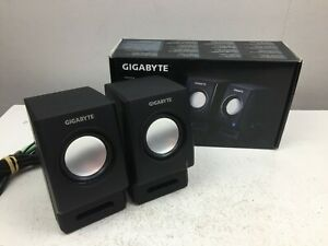 Gigabyte - GP-S2000 - 2 Channel USB Powered Stereo PC Speakers - Laptop -