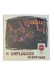 NIRVANA UNPLUGGED IN NEW YORK TARGET EXCLUSIVE LIMITED OPAQUE PURPLE VINYL