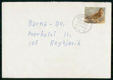 Mayfairstamps Iceland 19678 to Reykjavik Owl Cover wwh_92969