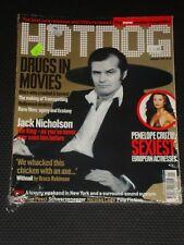 HOTDOG magazine #7, 2001, Jack Nicholson, Penelope Cruz, Trainspotting, RARE