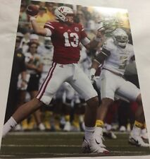 Tanner Lee Signed 8x10 Nebraska Football Photo W/ COA