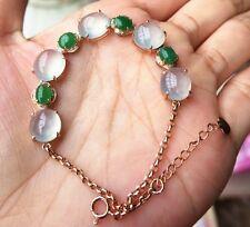 【Cherish Jade】Icy Emerald Green Jade Bracelet 【Burmese Certified Grade A】