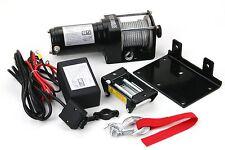 3000 LB Power Cable Winch Kit ATV UTV Truck Trailer Remote Control 12 Volt