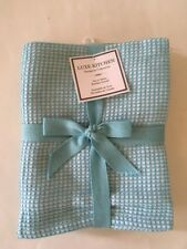 Turquoise Aqua Blue White Kitchen Towels Set Of 3 By Luxe Kitchen