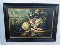 Quadro Olio su tela Natura Morta XIX secolo scuola italiana 111 x 83 cm