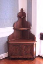 Corner Cupboard Baroque Piedmont/Wood Walnut/ First Half Of 900