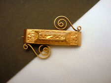 Vintage Beauty Pin Tube Hinge and C Clasp