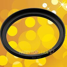 52mm to 58mm 52-58 mm Step-Up Lens Filter CPL ND UV Star Ring Adapter Adaptor
