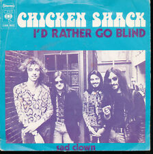 Chicken Shack I'd Rather Go Blind / Sad Clown Holland Import 45 W/Picture Sleeve