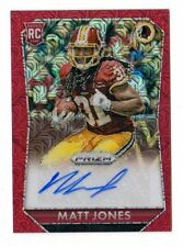 MATT JONES NFL 2015 PANINI PRIZM ROOKIE AUTOGRAPH PRIZMS RED POWER /60 (REDSKINS