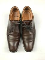 ECCO Mens Leather Casual Comfort Lace Up Shoes Size 47 (13 US) Brown