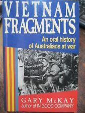 Australian Vietnam War Fragments Veteran Memoirs Book by G McKay