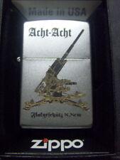 Zippo Sturmfeuerzeug Flakgeschütz 8,8 cm High End Gravur