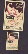 Ancienne  étiquette allumettes Belgique   BN19598 Epicerie