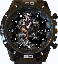 Chinese Dragons Yin Yang New Wrist Watch FAST UK SELLER
