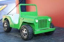 Tonka Toys Dispatch Jeep fat tires - Pressed Steel - USA