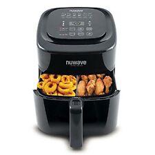Nuwave BRIO Air Fryer 6-Qt - Digital 6 Pre-Programmed Recipes 37001