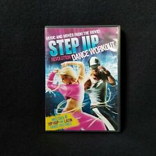 New listing STEP UP REVOLUTION Dance Workout Fitness dvd