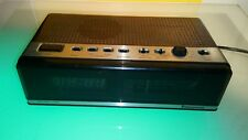 Vintage Panasonic clock radio RC-76 good shape with one issue