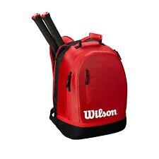 Wilson Team Backpack Tennis Bag - Black/Grey- Authorized Dealer