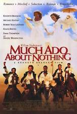 MUCH ADO ABOUT NOTHING Movie POSTER 27x40 B Kenneth Branagh Emma Thompson Keanu