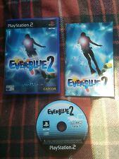 EVERBLUE 2 PS2 Game Retro Rare Complete Capcom PAL UK- free postage