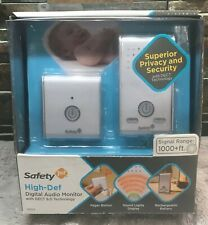 Safety 1st High-Def Digital Audio Monitor with DECT 6.0 Technology Brand New
