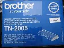 ORIGINALE BROTHER TONER TN-2005 Merce NUOVA 2018 conf. orig. HL-2035 / CONTO